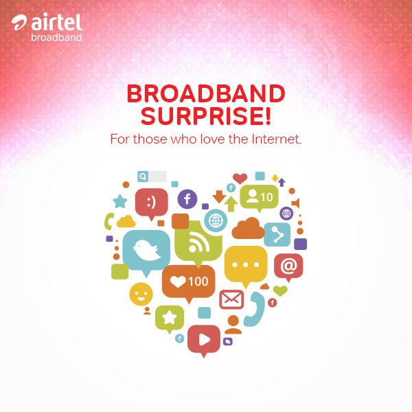Airtel Broadband Plans Upgraded