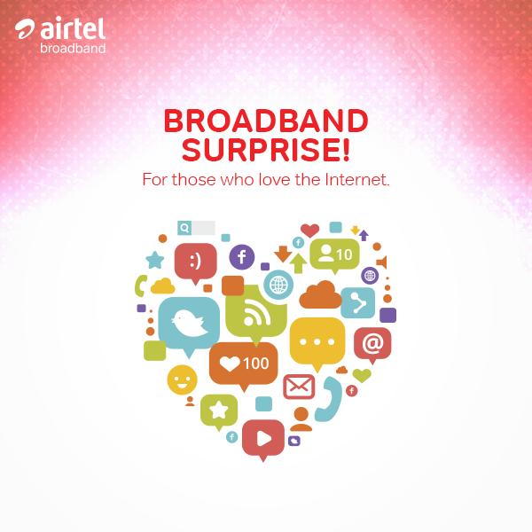 Airtel Broadband Plans Upgraded