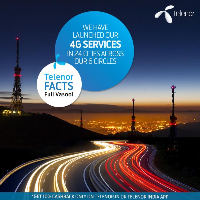 Telenor AP 4G Plans 2017