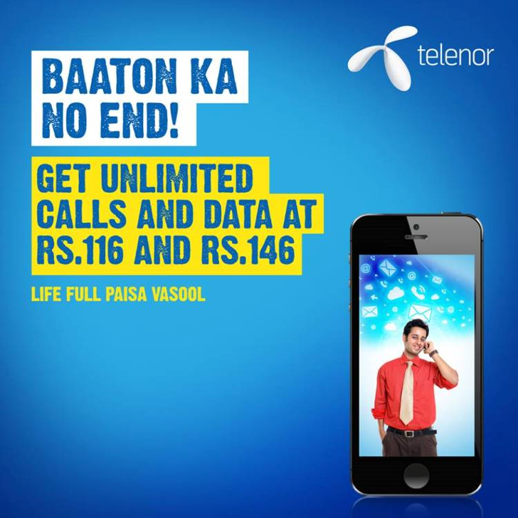 Telenor Unlimited Local & STD Calls Recharge 2017