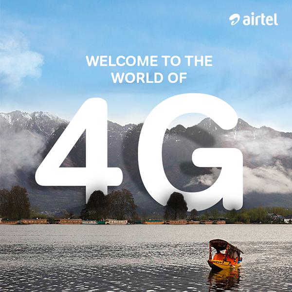 Airtel 4G Roam Like Home Plan Delhi & Maharashtra