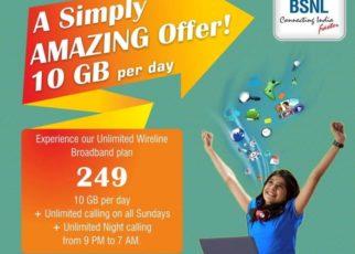 BSNL Unlimited BB249 & LL49 Extended till 30th September