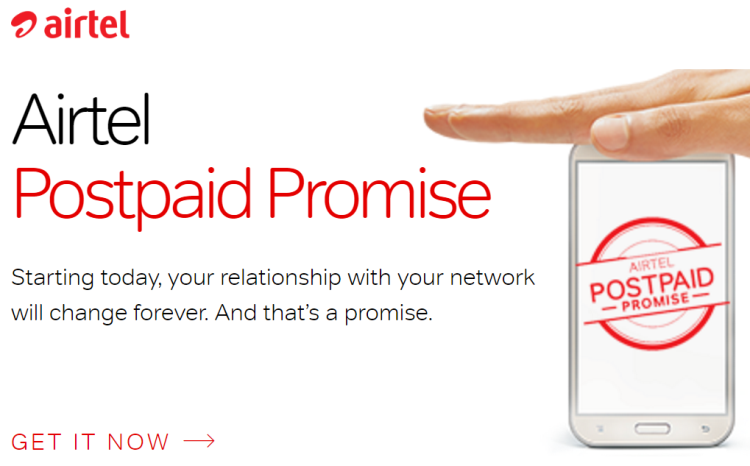 Airtel Postpaid Promise - Airtel Data Carry Forward or Roll Over