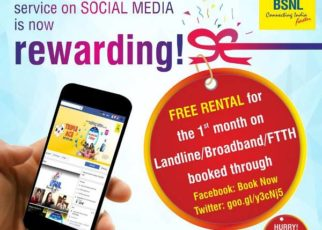 BSNL Social Book Free 1 Month Rental