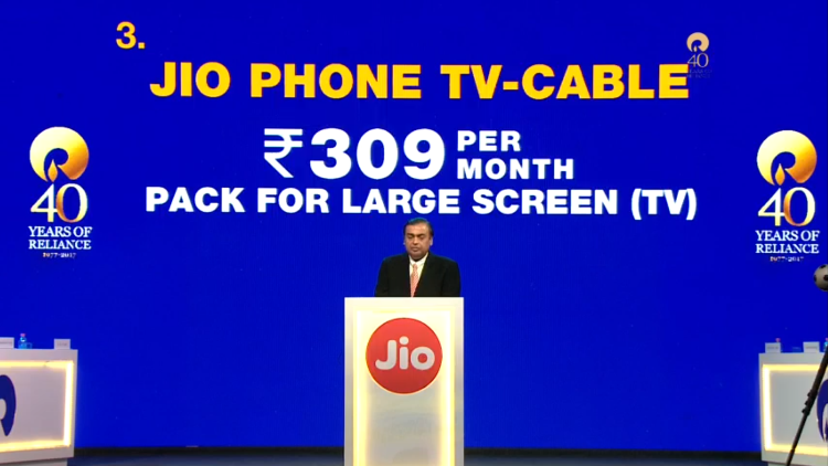 Jio Phone Cable Plan