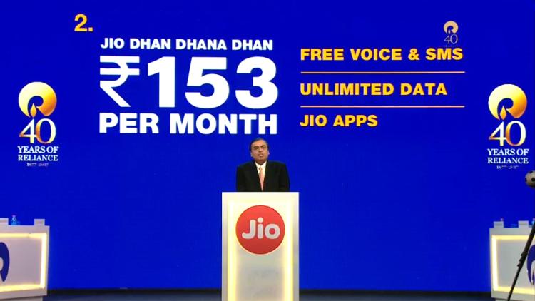Jio Phone Plans 153, 54, 24