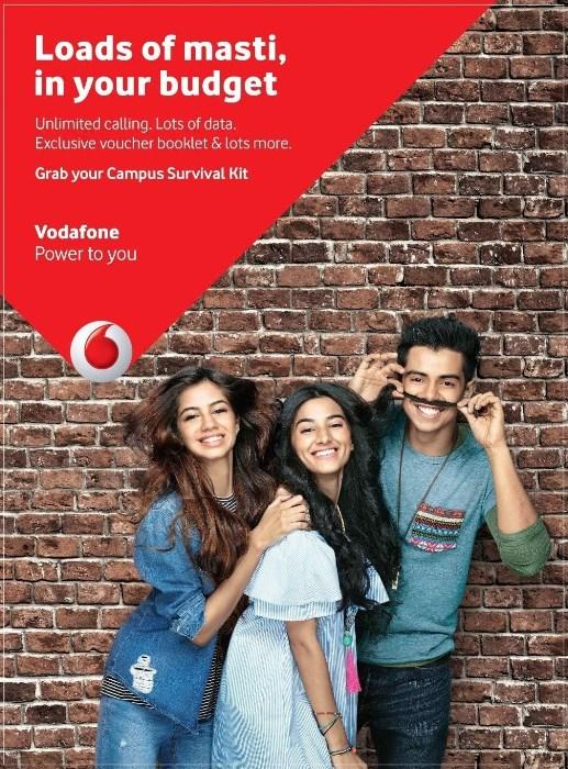 Vodafone Student Pack 445 Delhi